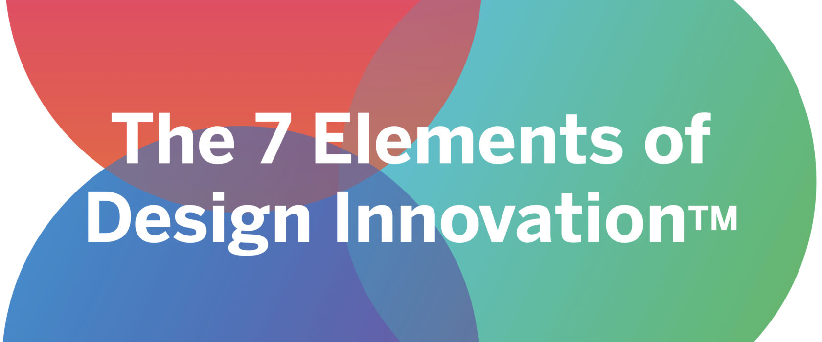7 Elements of Design Innovation